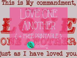 The love Jesus shows to us is unconditional, unending and unrelenting. Do we love others like that? Here's a reminder of why we should, plus free printable Bible verse art...