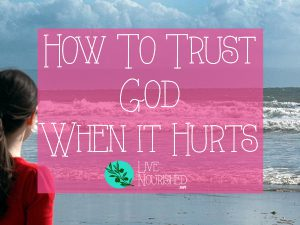 Do your emotions sometimes eclipse your faith in hard times? Do you find it hard to trust God and be at peace amidst the pain? This post gives two keys to help you to trust God, even when it hurts.