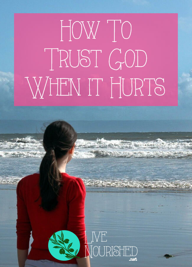 Do your emotions sometimes eclipse your faith in hard times? Do you find it hard to be at peace amidst the pain? This post gives two keys to help you to trust God, even when it hurts.