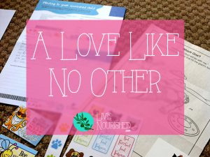A Love Like No Other…