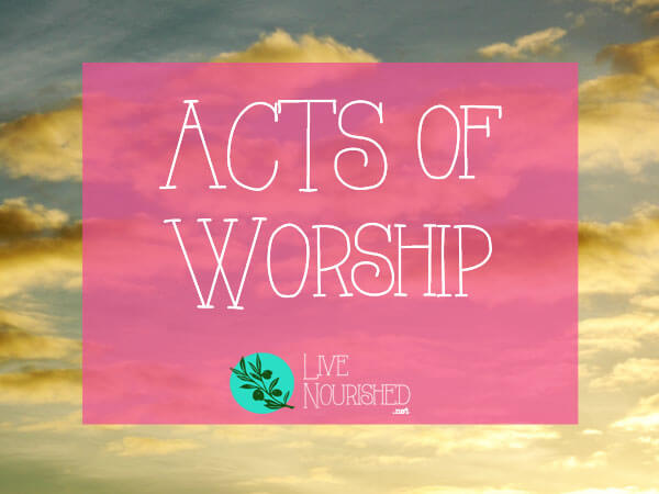Want an easy to remember format for your quiet time? This series will show you the ACTS of worship... { Post 1 - Introduction }