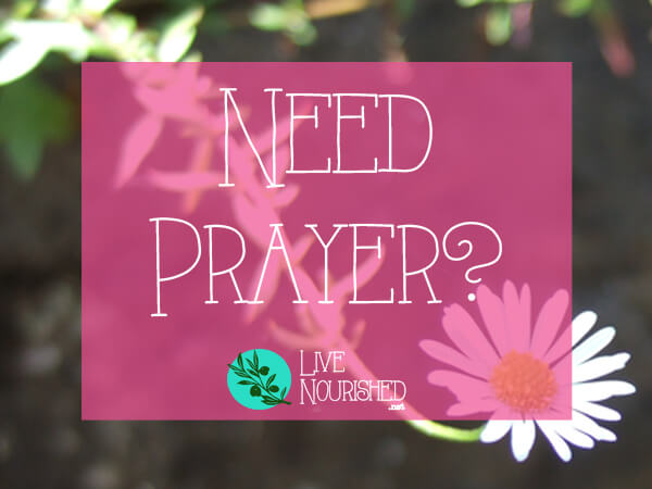 Do you need prayer? Submit your request here...