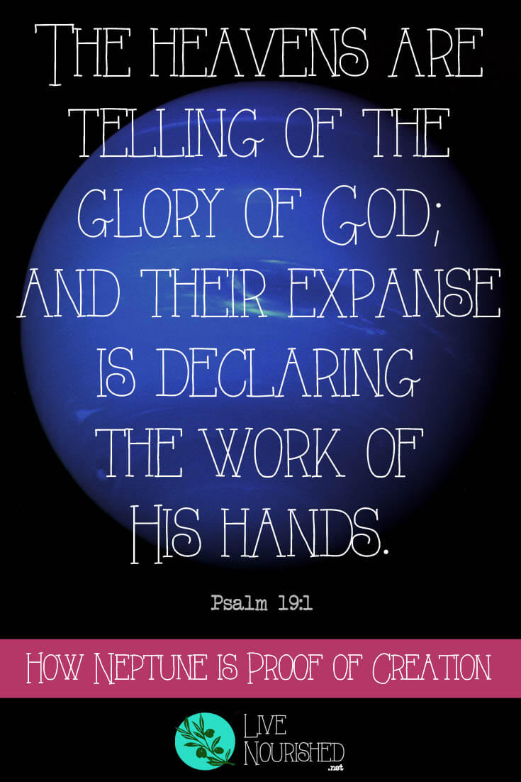 """""""The heavens are telling of the glory of God; and their expanse is declaring the work of His hands."""" { Psalm 19:1 } Do you know how the planet Neptune was discovered? Find the answer here, and see how it provides further proof of creation..."""