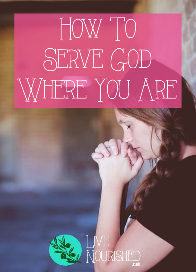 Is 'serving God' a separate task from daily life? Here are 3 Biblical keys to serving God everyday, with actionable ideas of how to put them into practice.