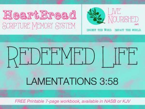 HeartBread: Redeemed Life { + free printable workbook }