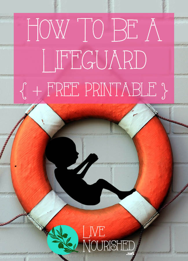 Not sure how to defend life? See what the Bible says you must do, with actionable tips on how you can be a lifeguard to the preborn (plus a free printable to help you get started)…