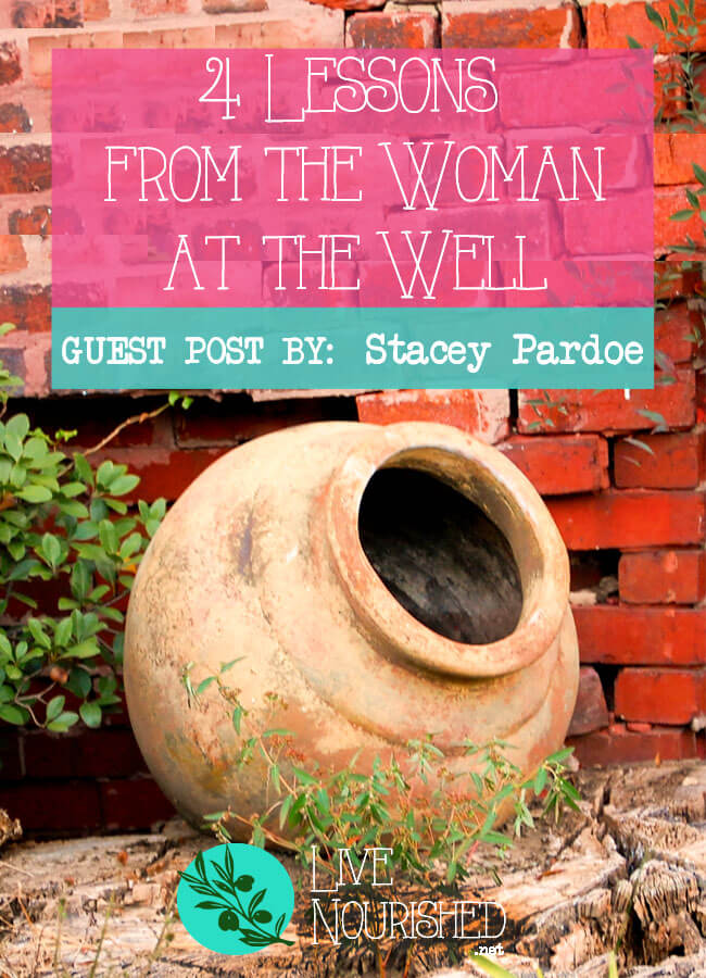 What can you learn from Jesus's encounter with the woman at the well? You can discover the two highest callings in your life… Guest post by Stacey Pardoe