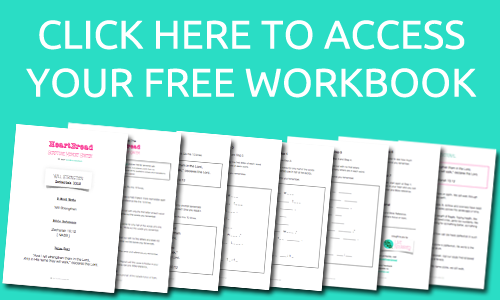 Join the E-List to Access The HeartBread workbooks in the Free Printable Library