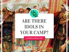 Are there things that have become idols and taken the place of the Lord in your life? Here's the real root of idolatry and what to do about it…