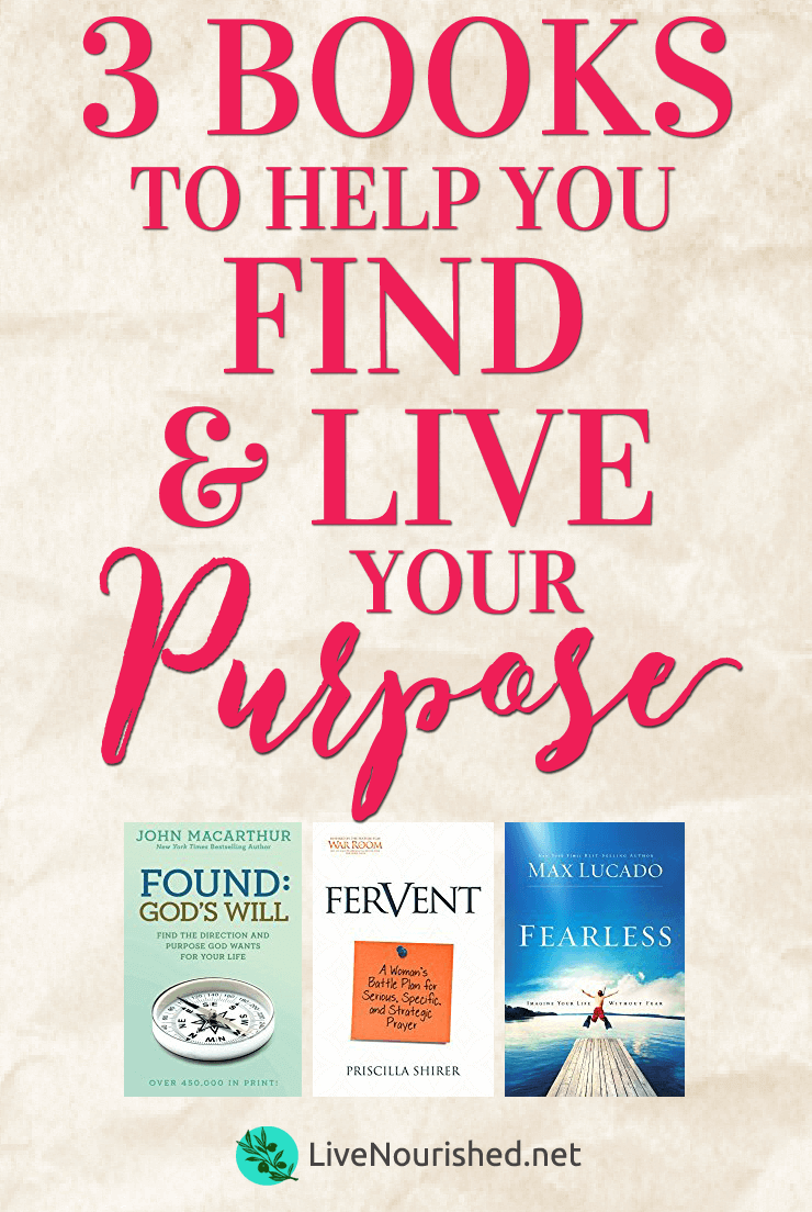 Do you struggle to know God's purpose for your life? Do fear and uncertainty hold you back from living out your calling? These 3 books can change all that…