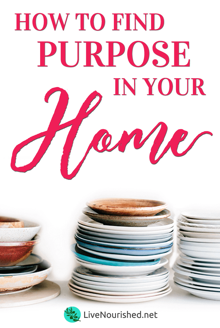 Feel like you're just going through the motions in your homemaking? If it seems like you're stuck in a rut with no sense of purpose, here's some hope…